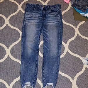 aeo skinny jeans